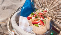Strawberry Chicken Wraps