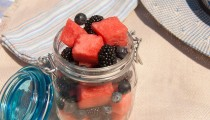 Red, Black & Blue Fruit Salad