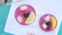Refreshing Blackberry Lemonade